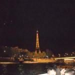 Ноћни поглед на Ајфелову кулу