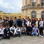 Професор Никола са својим одељењем у Версају