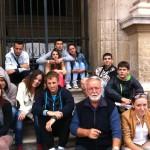 Професор Вука са ученицима у Лувру