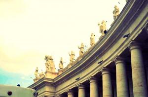 Ватикан, Трг Св. Петра и колонаде