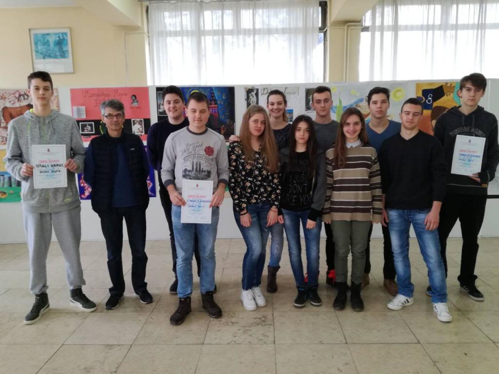 Учесници Окружног такмичења из физике